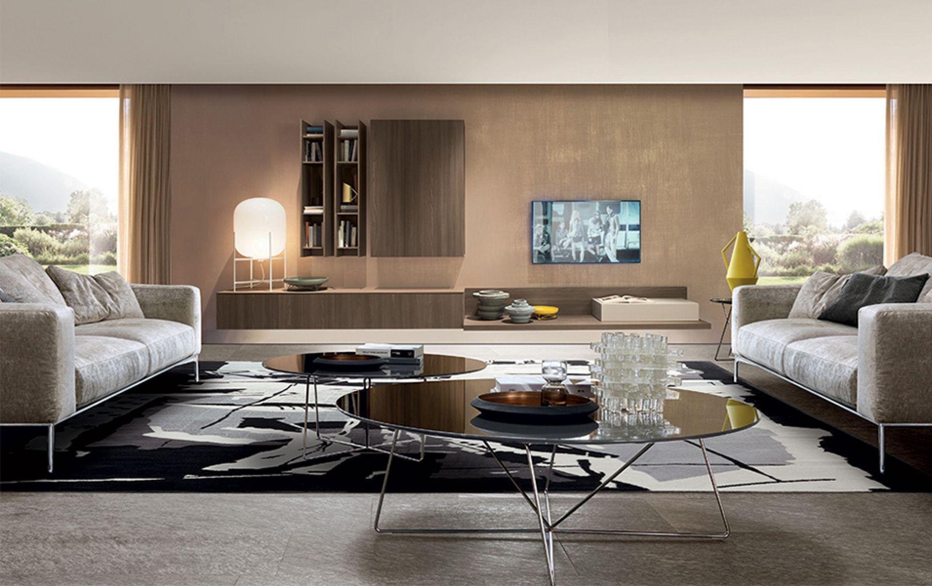 mobili soggiorno Bergamo | ABC Interni