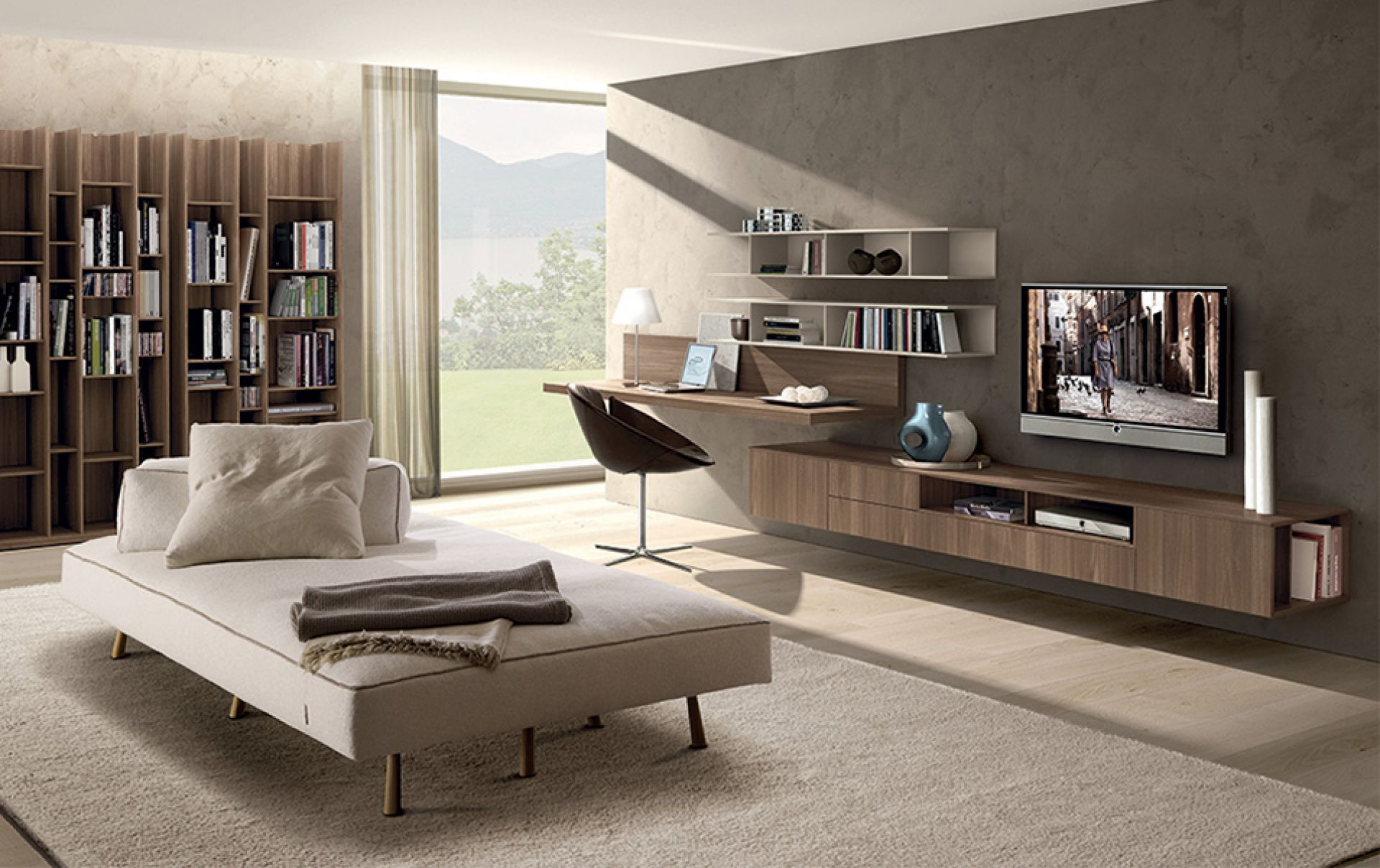 Arredamenti d interni moderni scrivania per ufficio with for Sei arredamenti verona