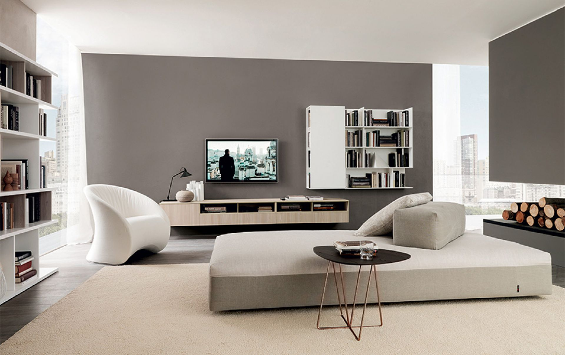 Soggiorni moderni bergamo abc interni for Immagini soggiorno moderno